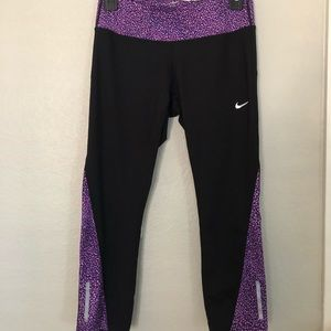 Nike Running Dri-fit 7/8 length leggings, S.